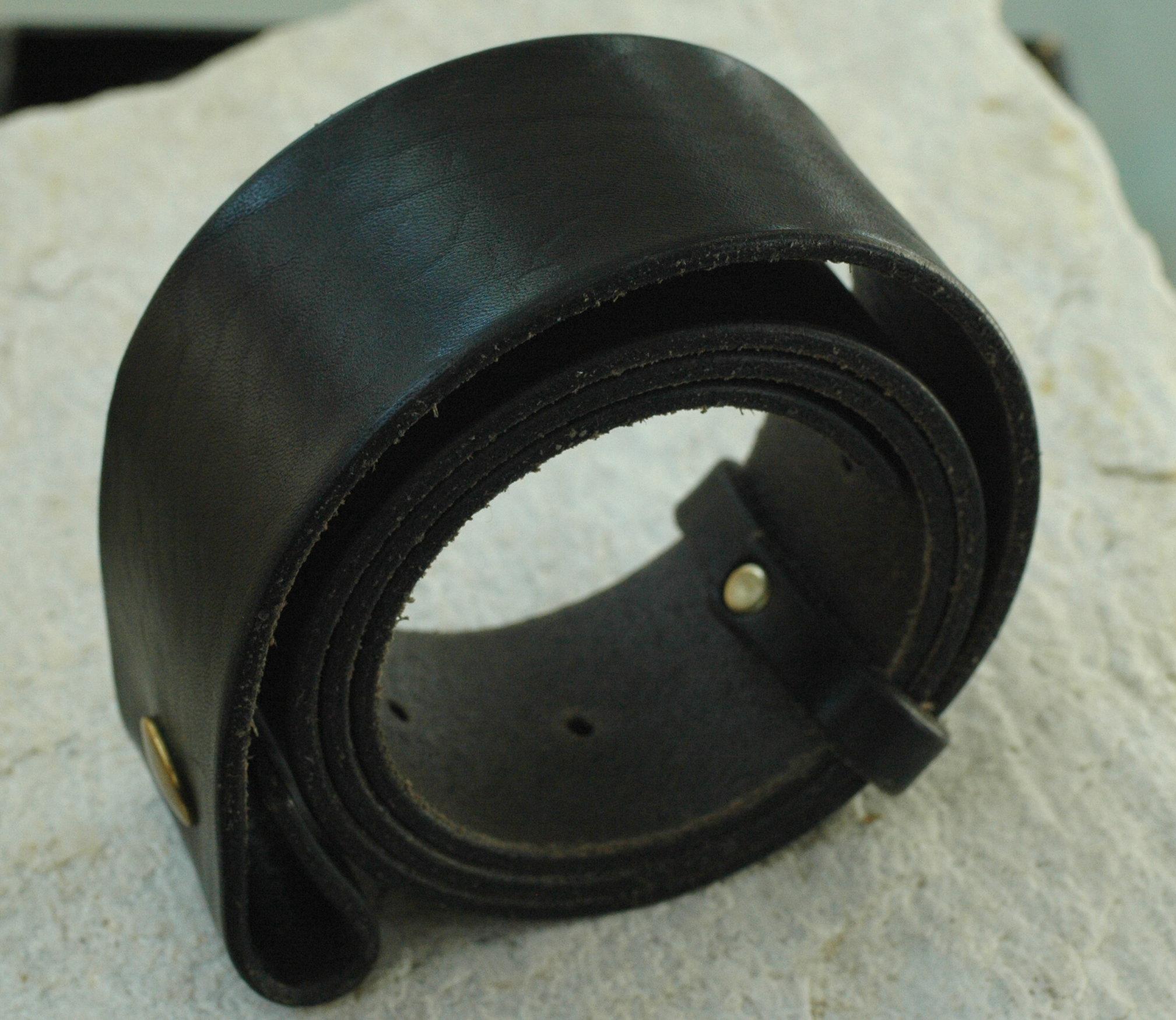 Galerie am alten Sägewerk - Ledergürtel schwarz 100cm 671d77bfd2