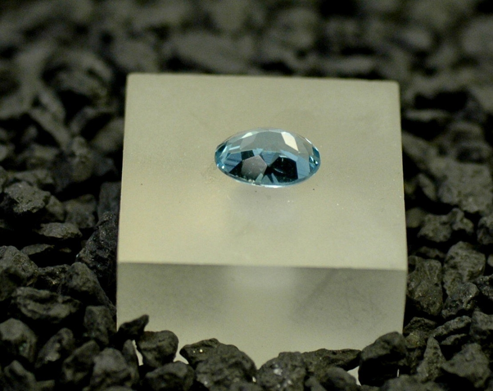 Aquamarin oval 1,70ct