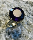 Amethyst Ring antik 585 GG